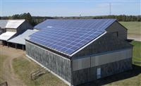 Agricultural Solar Retrofit Installation