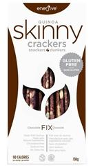 enerjive™ Quinoa Skinny Crackers - Chocolate Fix